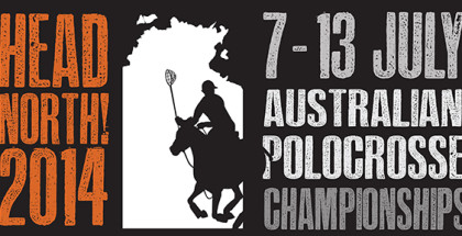 NT Polocrosse Association - stickers