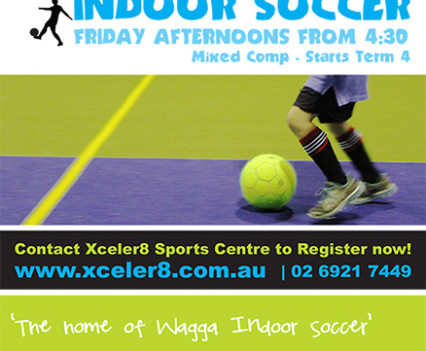 Xceler8 Indoor Sport Centre - Poster Artwork