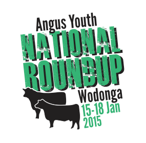 Angus Youth Roundup 2015 Logo - Plain / No shield