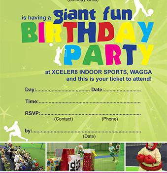 Xceler8 Indoor Sports - Birthday parties