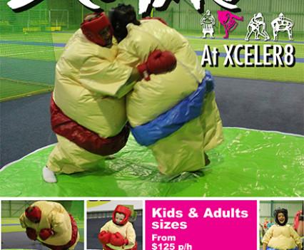 Xceler8 Indoor Sport Centre - Poster Artwork