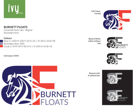 Burnett Floats - Corporate Logo Set