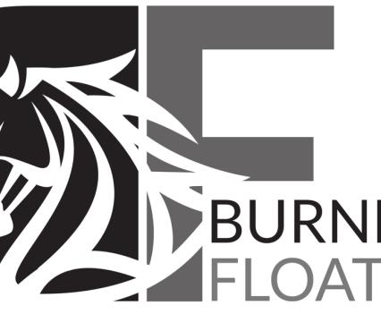 Burnett Floats - Greyscale on white