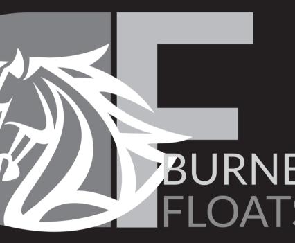 Burnett Floats - Greyscale on black