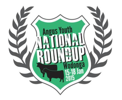 Angus Youth Roundup 2015 Logo