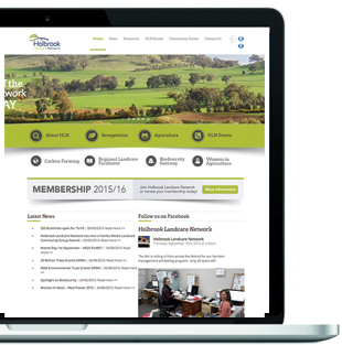 Holbrook Landcare Network – Website