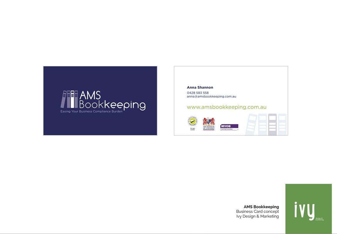 AMS Bookkeeping   Ivy Design